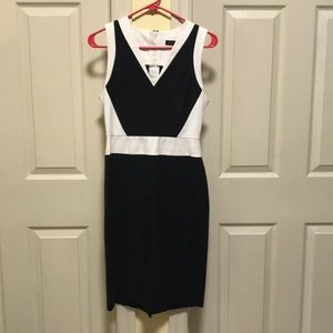 Colorblock professional dress
